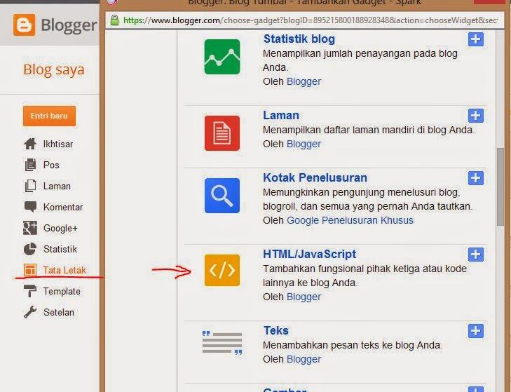 Cara Membuat Widget Berlangganan Artikel Keren pada Blog,tambahkan widget