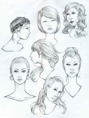 drawings-of-faces, pencil-doodles, face-doodle, face-sketch, face-sketches