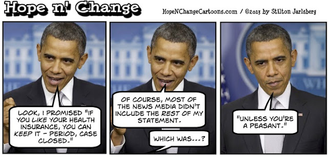 obama, obama jokes, cartoon, obamacare, congress, hypocrisy, stilton jarlsberg, hope n' change, hope and change, medicine, insurance, exchanges, conservative, tea party