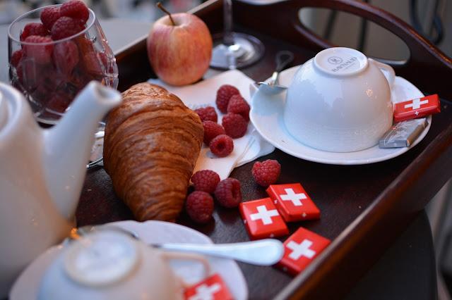 завтрак в Швейцарии