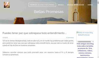 Bellas Promesas de Dios