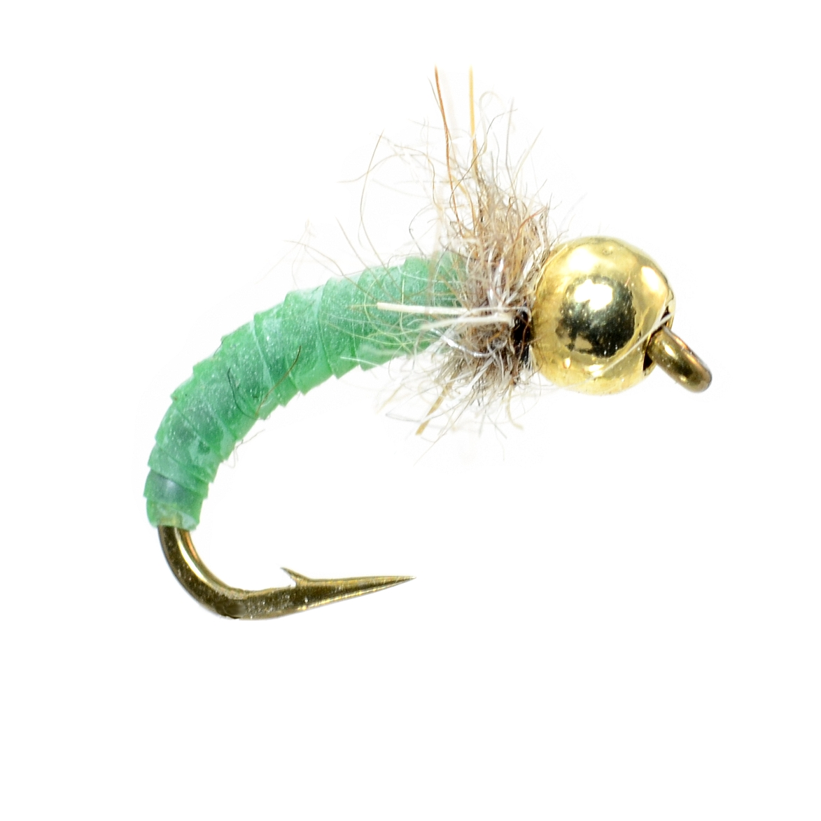 Beginner fly tying easy caddis pupa fly fish food for Fly fishing tying