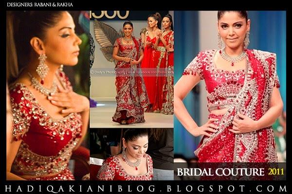 HADIQA KIANI: HADIQA Showstops - BRIDAL Couture Week 2011