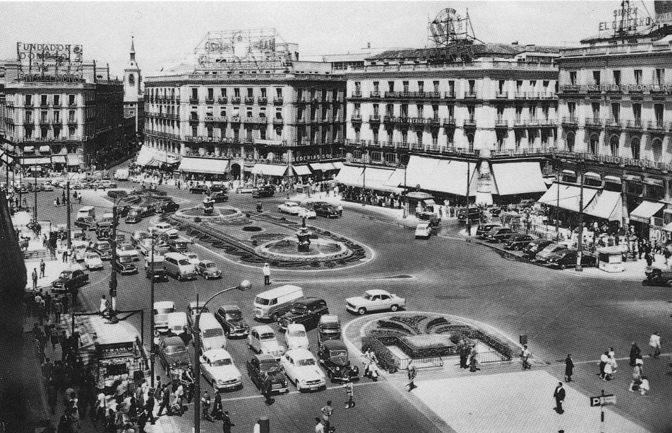 Puerta del Sol 1970