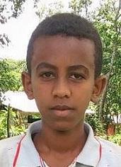 Milkias - Ethiopia (ET-555), Age 14