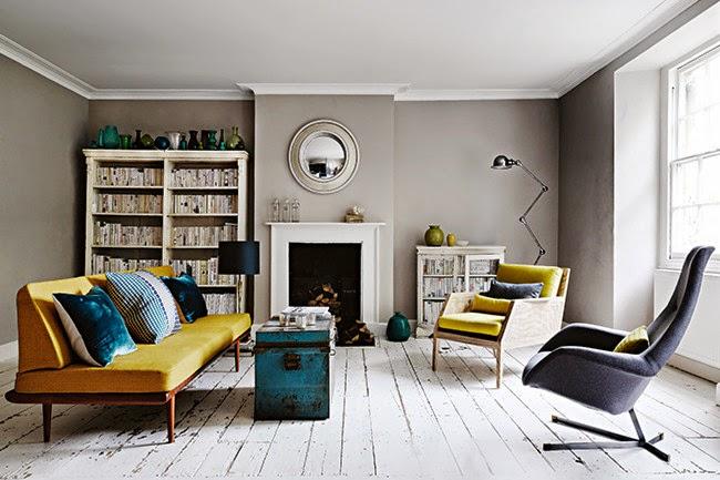 Die wohngalerie grau ist das neue wei - Wandfarbe greige ...