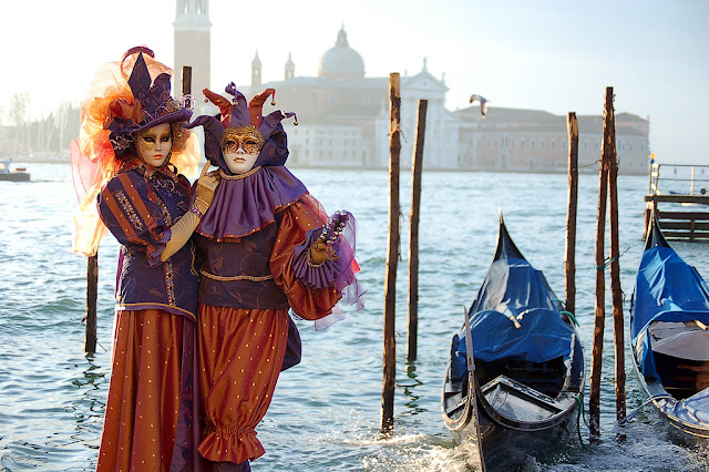 Venice Carnival the most glamorous costumed festival