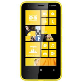 Harga dan Spesifikasi Nokia Lumia 620 8GB Kuning