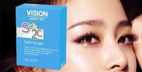 thực phẩm chức năng Safe-to-see Vision mắt, thị giác