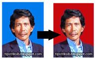 cara cepat mengganti warna background foto menggunakan photoshop