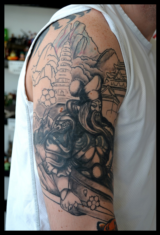 philip towers tattoo artist tiger sleeve. Black Bedroom Furniture Sets. Home Design Ideas