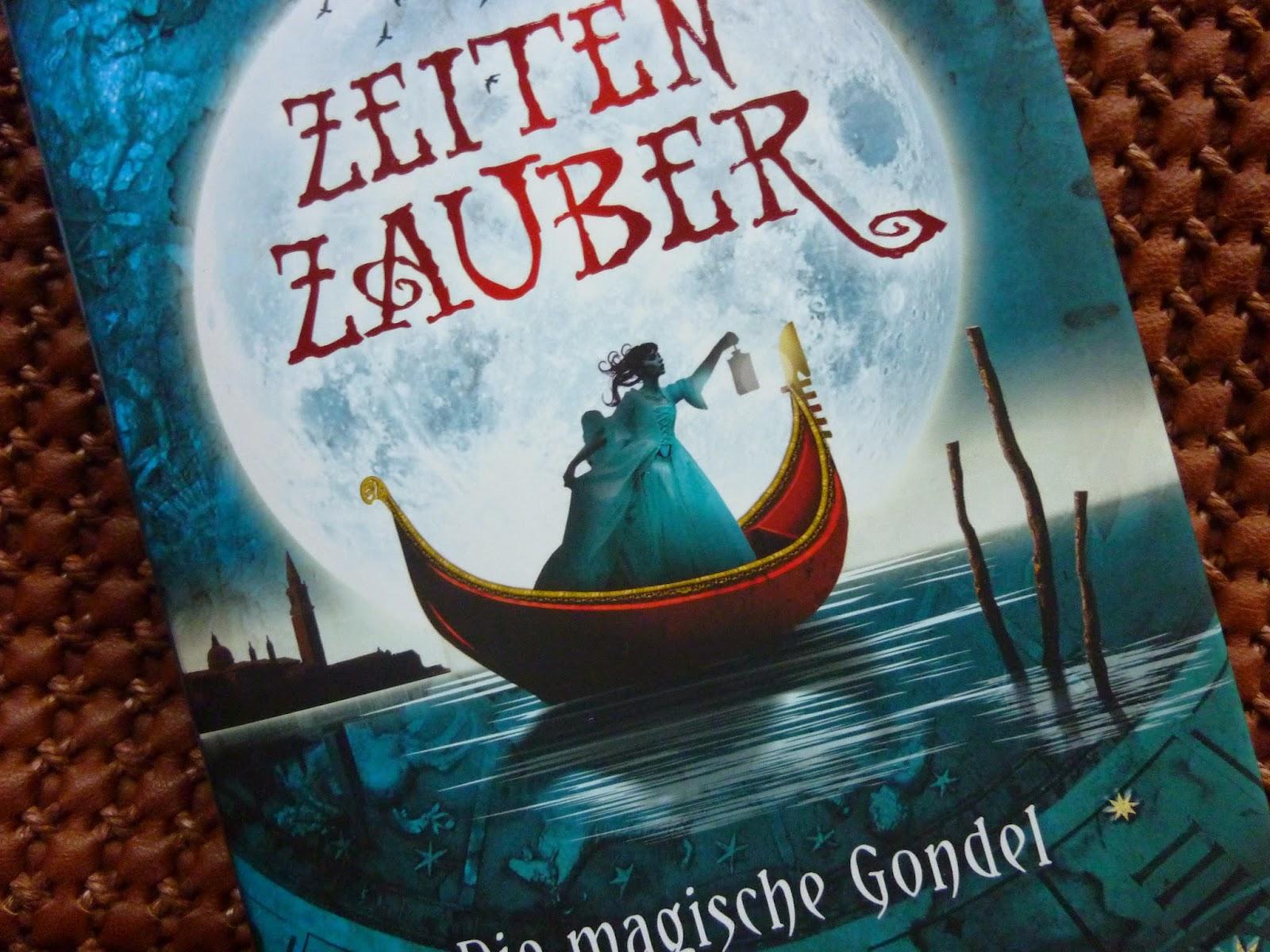 Zeitenzauber - Rezension - Buch Zeitenzauber die magische Gondel - Pandastic Books