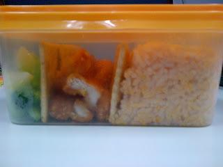 Orange bento box