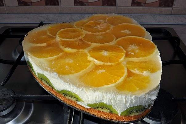 торт оранжевое настроение как готовить рецепт