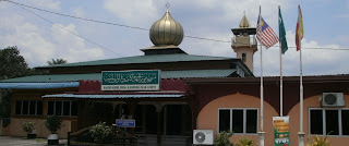 Masjid Nurul Huda, Olak Lempit