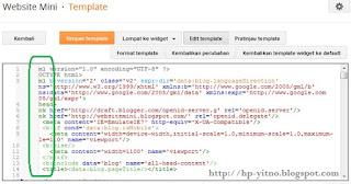 cara menyiasati editor html blank di blogspot