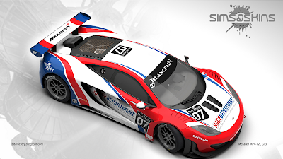 McLaren MP4-12C GT3 : Race Department