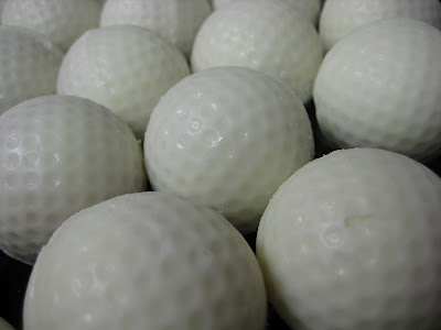 Golf Ball Cheesecake Balls - Close-Up 3