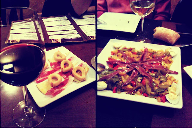 Madrid restaurante vinos tapas