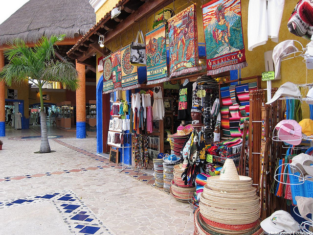 Shopping at Playa del Carmen