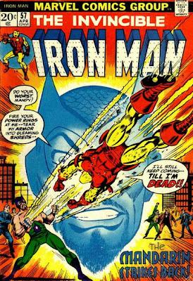 Iron Man #57, the Mandarin