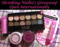 Giveaway #2 Shrinkingwallet Blog