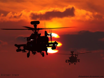 Apache AH - 64 Helicopter