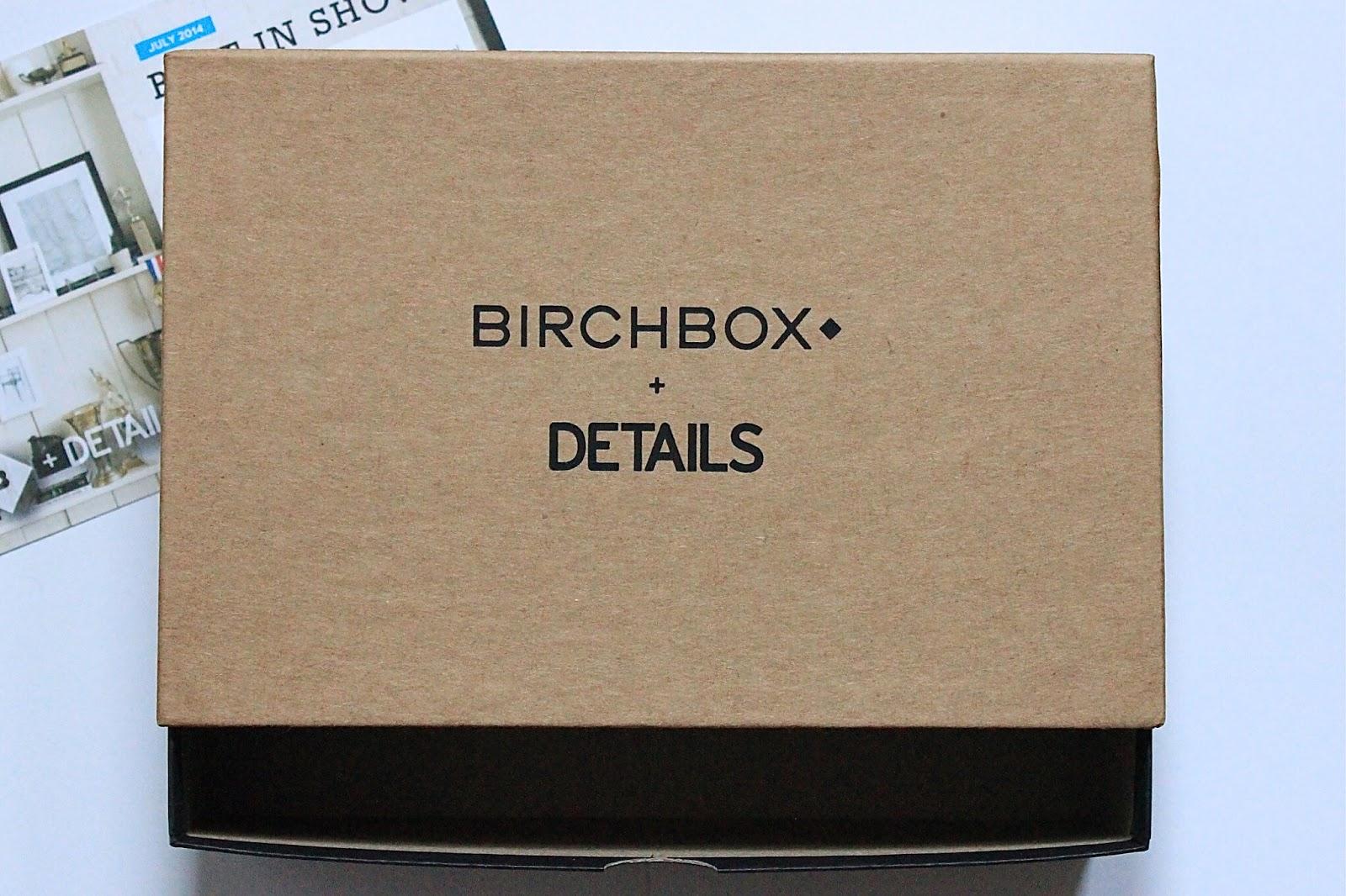 Birchbox Man, Birchbox, July Birchbox