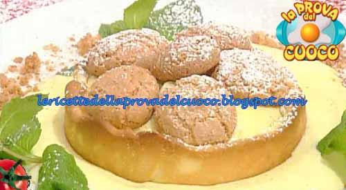 Crostatina con crema al mascarpone e amaretti ricetta La Prova del Cuoco