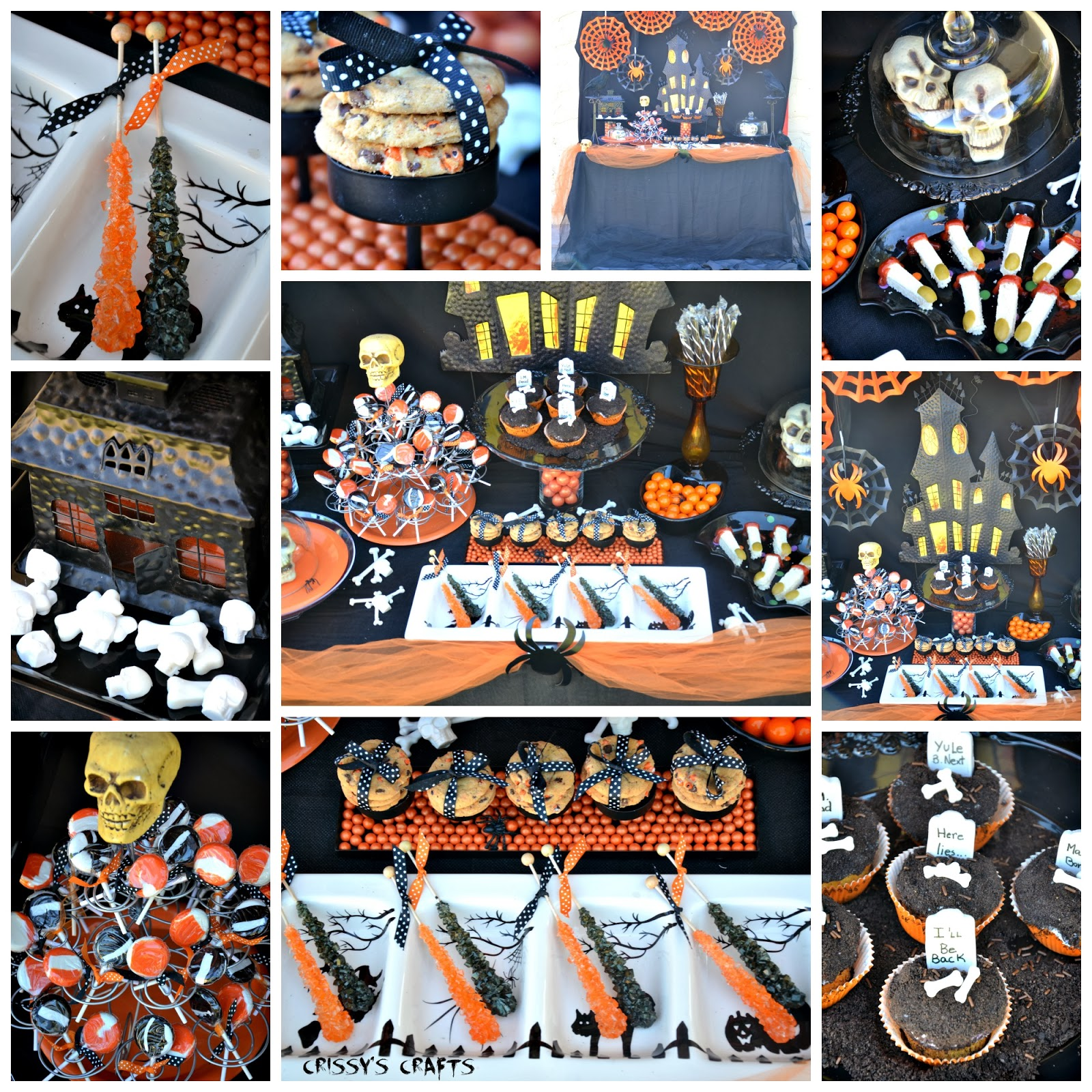 Crissy's Crafts: Frightfully Fancy Halloween Party