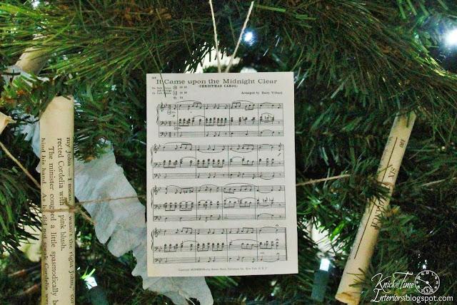 vintage style Christmas tree ornaments - KnickofTime.net