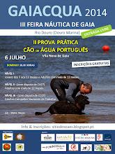 II Prova Prática para Cão de Água Português de Vila Nova de Gaia