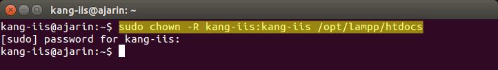 Copy File atau Folder ke htdocs di Linux Ubuntu