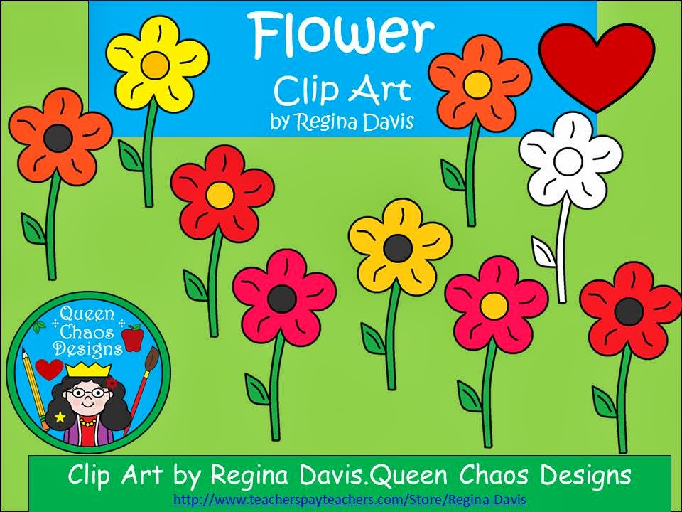 http://www.teacherspayteachers.com/Product/A-Clip-Art-Flower-FREEBIE-1174697