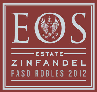 Eos Estate Zinfandel wine label