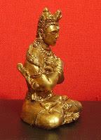 Buddha vajradhara scultura Progetto vajra perle nel tempo art gallery meditazione zen