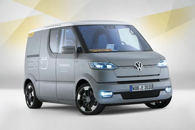 Volkswagen eT Concept Van