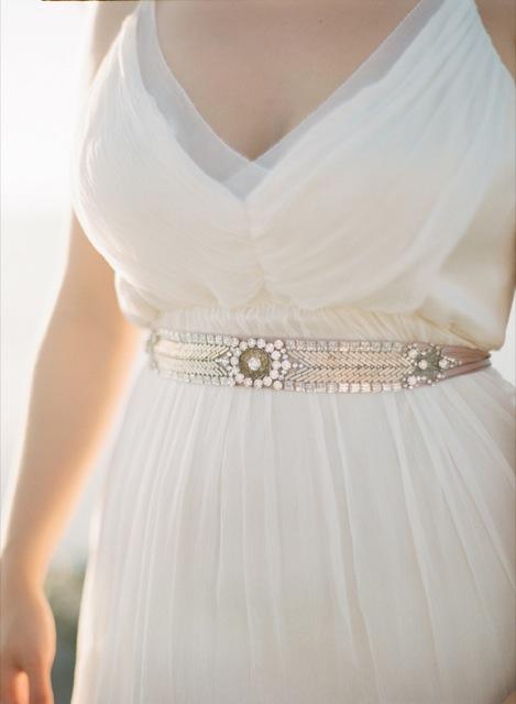 cinturon joya para novia