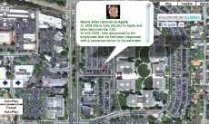 La vida de Steve Jobs en Google Maps