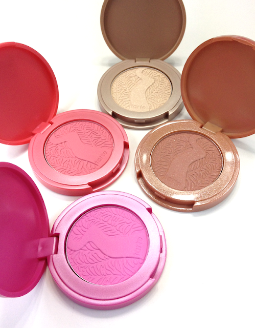 tarte Holiday 2012 Fantastic Foursome 4-Piece Amazonian Clay Blush Enthusiast Set