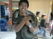 My Brother with snake...:-)