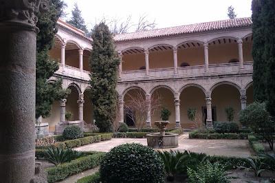claustro monasterio de yuste