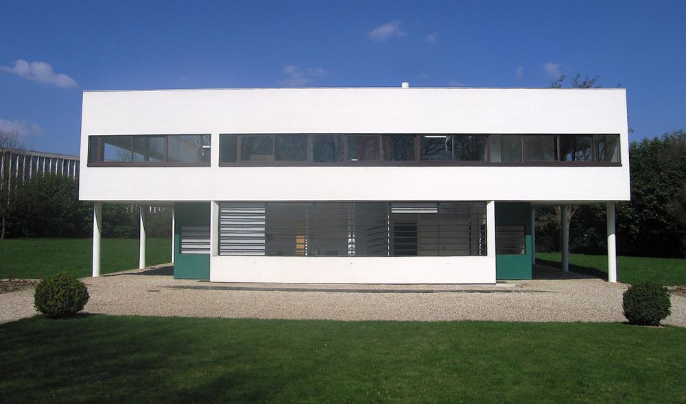 Holodeck arquitetura villa savoye de le corbusier - Casas de le corbusier ...