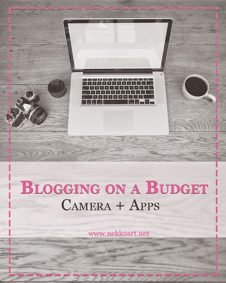 Blogging on a budget camera and apps