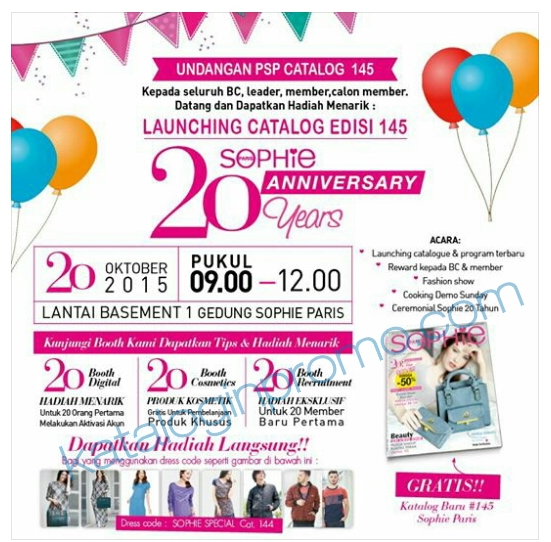 Katalog Launching Promo Sophie Martin November 2015