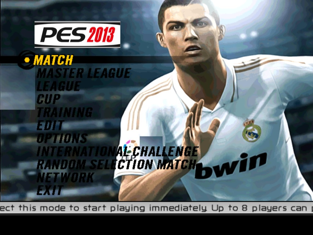 New Background Pes 2013 For Pes 6 By Odai Shukairy King95 - Pes 6  picture wallpaper image