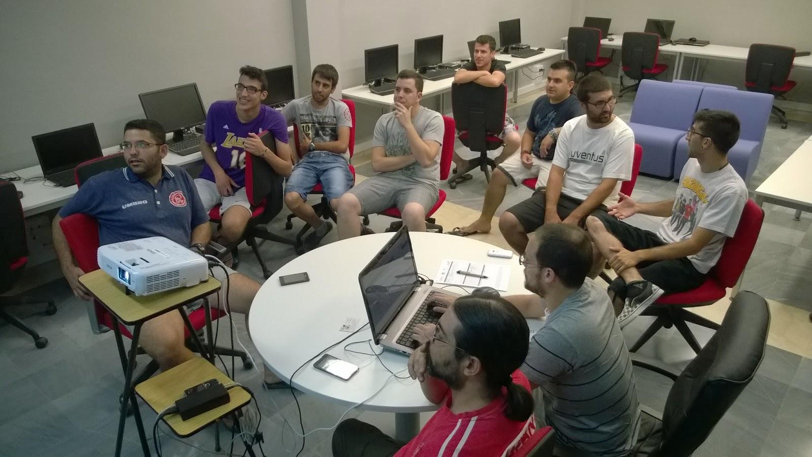 Reunión 9 julio 2015 para la creación de la Asoc. Geekgamersteam