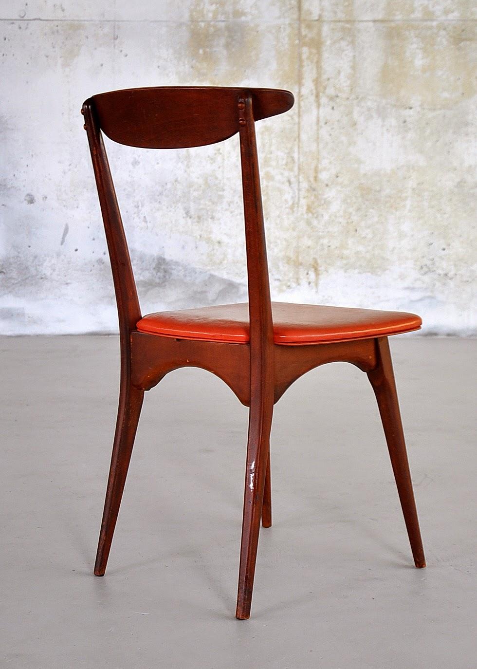 Modern Coffe Side Stool Designs : SELECT MODERN: Danish Modern Desk, Vanity Table or Side Chair