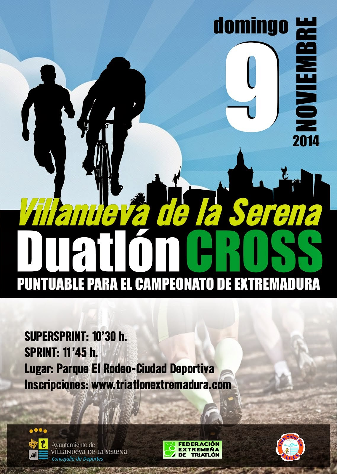 Duatlón CROSS