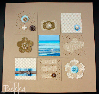 Maldieves Scrapbook Page